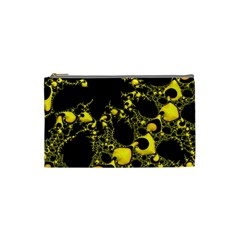 Special Fractal 04 Yellow Cosmetic Bag (small)