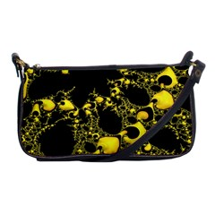 Special Fractal 04 Yellow Evening Bag