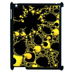 Special Fractal 04 Yellow Apple Ipad 2 Case (black)