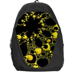 Special Fractal 04 Yellow Backpack Bag