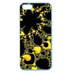 Special Fractal 04 Yellow Apple Seamless Iphone 5 Case (color)