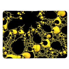 Special Fractal 04 Yellow Kindle Fire Flip Case