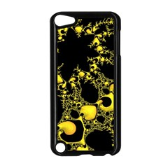 Special Fractal 04 Yellow Apple Ipod Touch 5 Case (black)