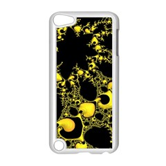 Special Fractal 04 Yellow Apple iPod Touch 5 Case (White)