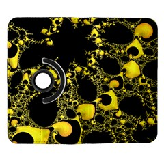 Special Fractal 04 Yellow Samsung Galaxy Note II Flip 360 Case