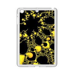 Special Fractal 04 Yellow Apple iPad Mini 2 Case (White)