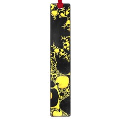 Special Fractal 04 Yellow Large Bookmark