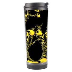 Special Fractal 04 Yellow Travel Tumbler
