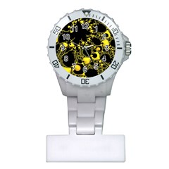Special Fractal 04 Yellow Nurses Watch