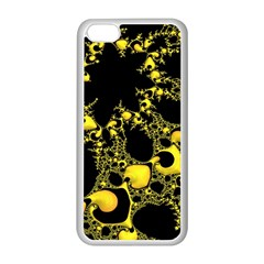 Special Fractal 04 Yellow Apple Iphone 5c Seamless Case (white)
