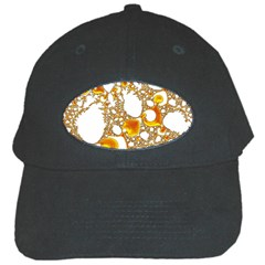 Special Fractal 04 Orange Black Baseball Cap