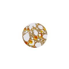 Special Fractal 04 Orange 1  Mini Button Magnet