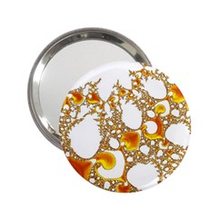 Special Fractal 04 Orange Handbag Mirror (2.25 )