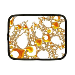 Special Fractal 04 Orange Netbook Sleeve (small)