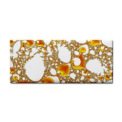 Special Fractal 04 Orange Hand Towel