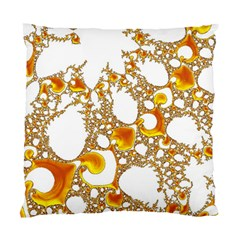 Special Fractal 04 Orange Cushion Case (Two Sided)