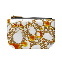 Special Fractal 04 Orange Coin Change Purse
