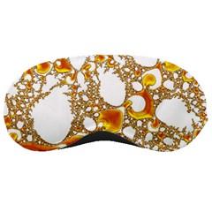 Special Fractal 04 Orange Sleeping Mask