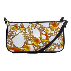 Special Fractal 04 Orange Evening Bag