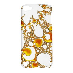 Special Fractal 04 Orange Apple Ipod Touch 5 Hardshell Case