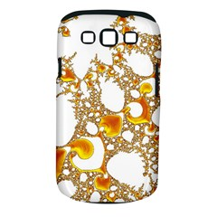 Special Fractal 04 Orange Samsung Galaxy S III Classic Hardshell Case (PC+Silicone)
