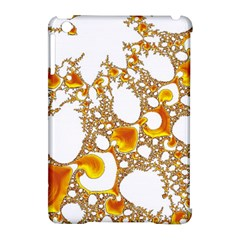 Special Fractal 04 Orange Apple iPad Mini Hardshell Case (Compatible with Smart Cover)