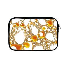 Special Fractal 04 Orange Apple Ipad Mini Zippered Sleeve