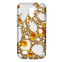 Special Fractal 04 Orange Samsung Galaxy S4 Mini (gt I9190) Hardshell Case