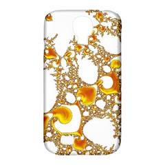 Special Fractal 04 Orange Samsung Galaxy S4 Classic Hardshell Case (PC+Silicone)