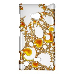 Special Fractal 04 Orange Nokia Lumia 720 Hardshell Case