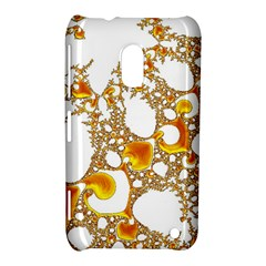 Special Fractal 04 Orange Nokia Lumia 620 Hardshell Case