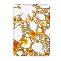 Special Fractal 04 Orange Samsung Galaxy Tab 2 (10.1 ) P5100 Hardshell Case