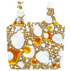 Special Fractal 04 Orange Reusable Bag (xl)