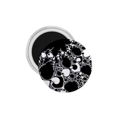 Special Fractal 04 B&w 1.75  Button Magnet