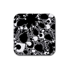 Special Fractal 04 B&w Drink Coaster (Square)