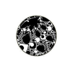 Special Fractal 04 B&w Golf Ball Marker 4 Pack (for Hat Clip)