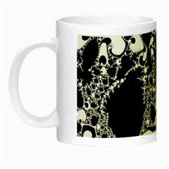 Special Fractal 04 B&w Glow In The Dark Mug