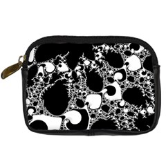 Special Fractal 04 B&w Digital Camera Leather Case