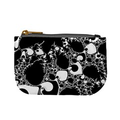 Special Fractal 04 B&w Coin Change Purse