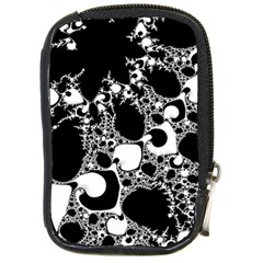 Special Fractal 04 B&w Compact Camera Leather Case