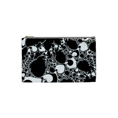 Special Fractal 04 B&w Cosmetic Bag (small)
