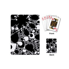 Special Fractal 04 B&w Playing Cards (mini)