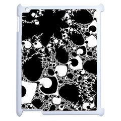 Special Fractal 04 B&w Apple Ipad 2 Case (white)