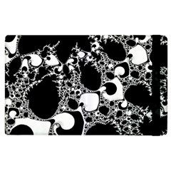 Special Fractal 04 B&w Apple Ipad 2 Flip Case