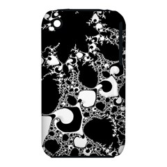 Special Fractal 04 B&w Apple iPhone 3G/3GS Hardshell Case (PC+Silicone)
