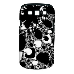 Special Fractal 04 B&w Samsung Galaxy S III Classic Hardshell Case (PC+Silicone)