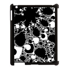 Special Fractal 04 B&w Apple iPad 3/4 Case (Black)