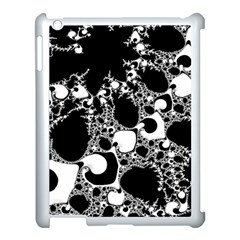 Special Fractal 04 B&w Apple iPad 3/4 Case (White)