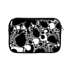 Special Fractal 04 B&w Apple iPad Mini Zippered Sleeve