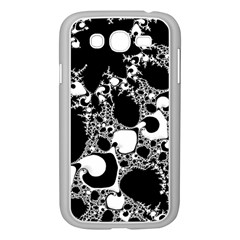 Special Fractal 04 B&w Samsung Galaxy Grand DUOS I9082 Case (White)